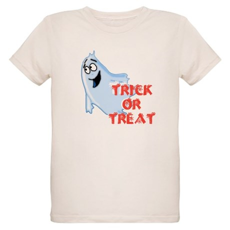 Trick or Treat Organic Kids T-Shirt