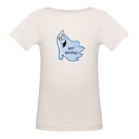 Happy Hauntings Organic Baby T-Shirt