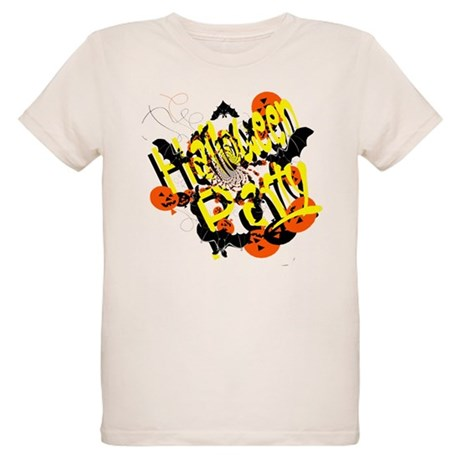 Halloween Party Organic Kids T-Shirt