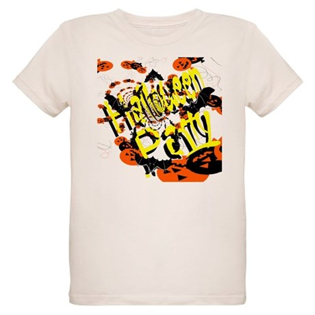 Halloween Party II Organic Kids T-Shirt
