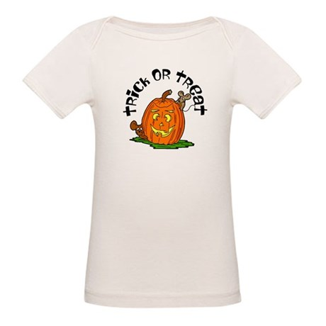 Pumpkin Mice Organic Baby T-Shirt
