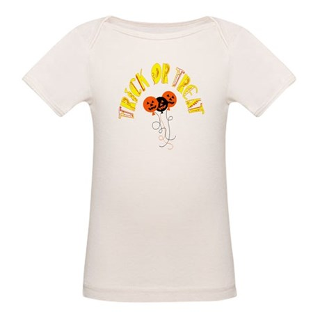 Trick or Treat Pumpkins Organic Baby T-Shirt