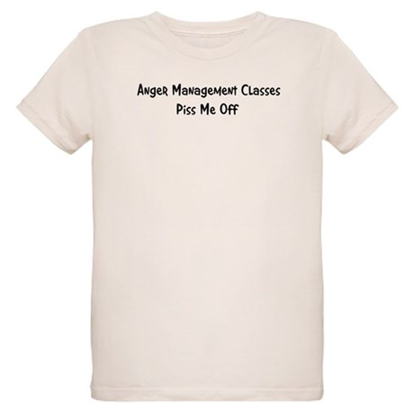 Anger Management Classes Piss Organic Kids T-Shirt