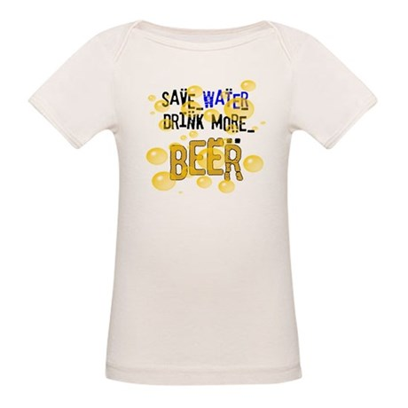 Save Water Drink Beer Organic Baby T-Shirt