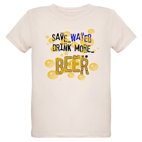 Save Water Drink Beer Organic Kids T-Shirt