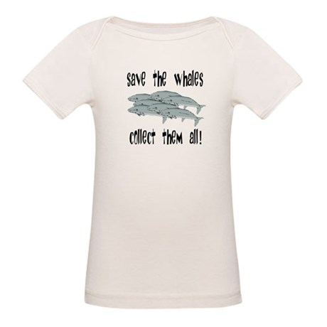 Save the Whales Organic Baby T-Shirt