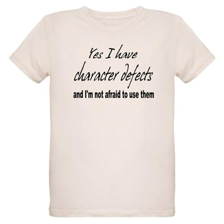Character Defects Organic Kids T-Shirt