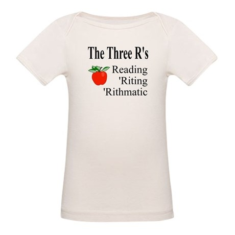 The Three R's Organic Baby T-Shirt