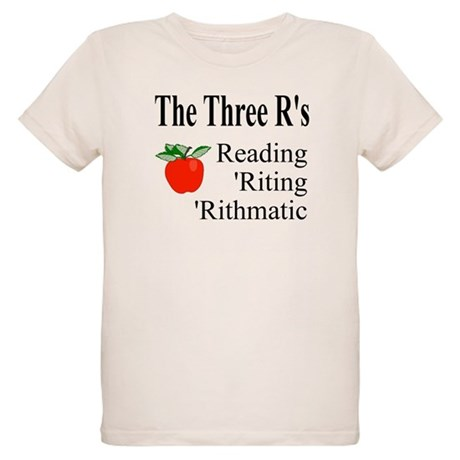 The Three R's Organic Kids T-Shirt