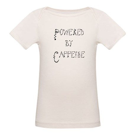 Powered by Caffeine Organic Baby T-Shirt
