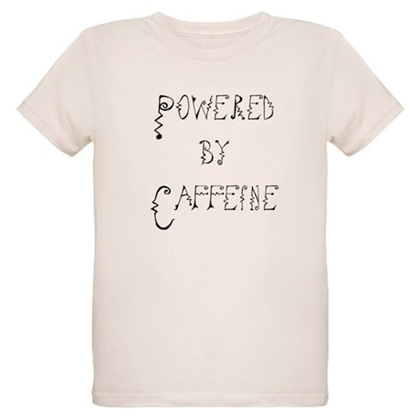 Powered by Caffeine Organic Kids T-Shirt