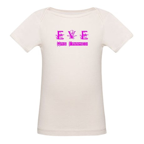 Eve was Framed Organic Baby T-Shirt