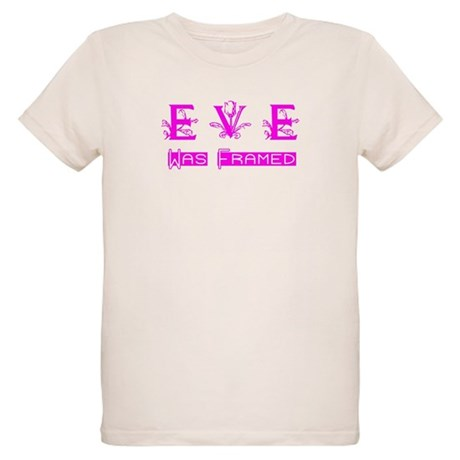 Eve was Framed Organic Kids T-Shirt