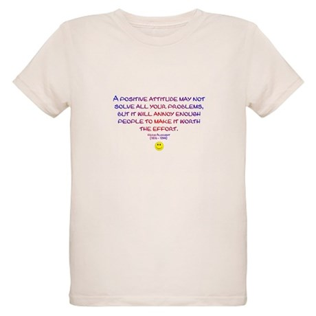 Positively Annoying Organic Kids T-Shirt
