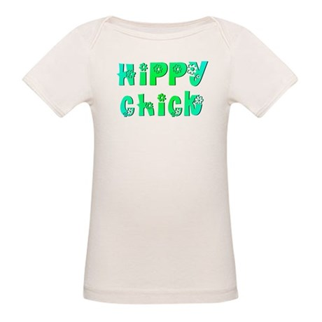 Hippy Chick Organic Baby T-Shirt