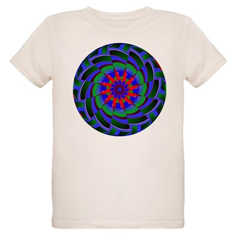 Kaleidoscope 0004 Organic Kids T-Shirt
