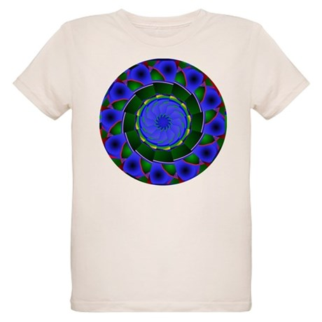 Kaleidoscope 0001 Organic Kids T-Shirt