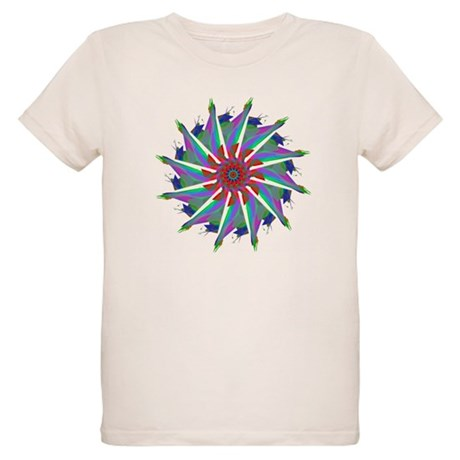 Kaleidoscope 0006 Organic Kids T-Shirt