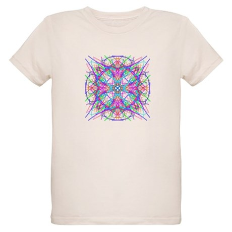 Kaleidoscope 005 Organic Kids T-Shirt