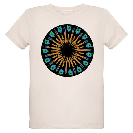 Kaleidoscope 003 Organic Kids T-Shirt