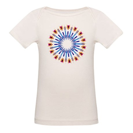 Kaleidoscope 003d Organic Baby T-Shirt