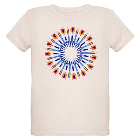 Kaleidoscope 003d Organic Kids T-Shirt