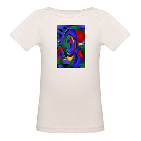Abstract 001a Organic Baby T-Shirt