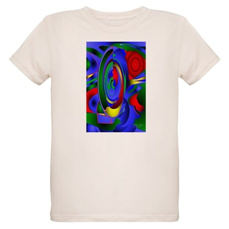 Abstract 001a Organic Kids T-Shirt