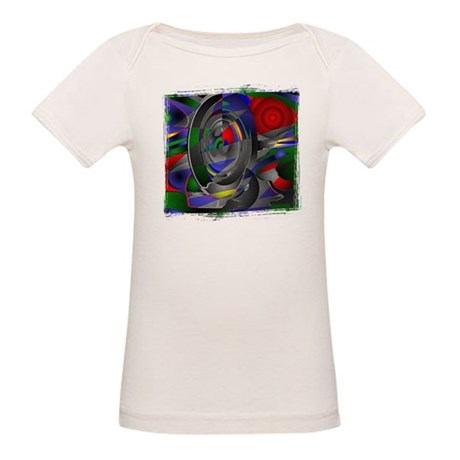 Abstract 002a Organic Baby T-Shirt