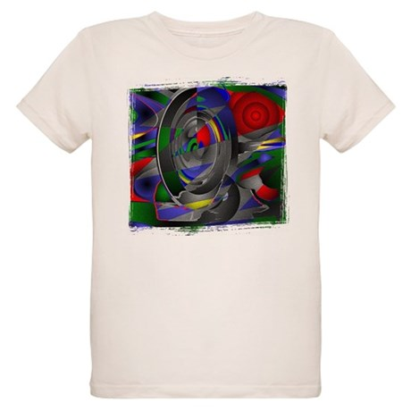 Abstract 002a Organic Kids T-Shirt