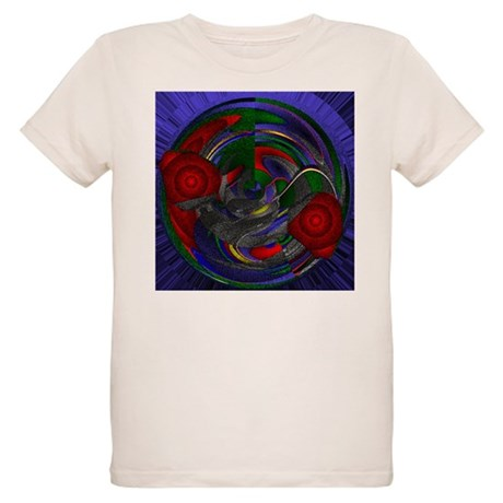 Abstract 005 Organic Kids T-Shirt