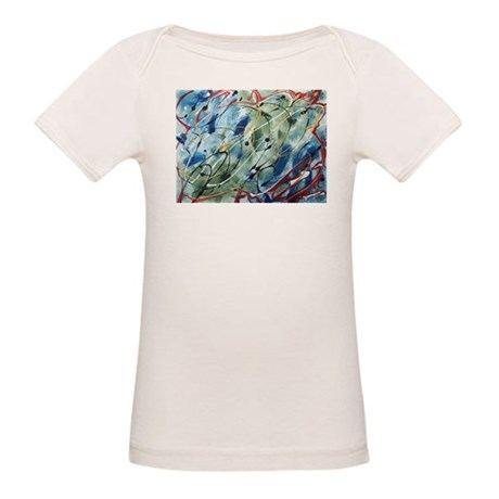 Untitled Abstract Organic Baby T-Shirt