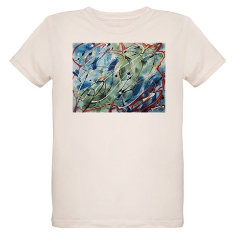 Untitled Abstract Organic Kids T-Shirt