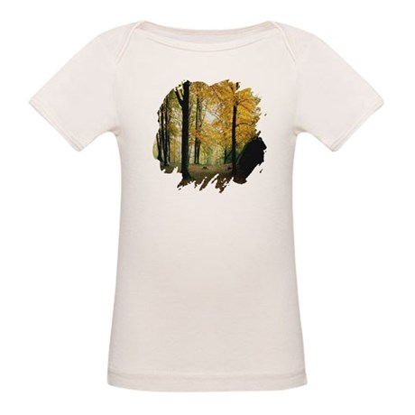Autumn Woods Organic Baby T-Shirt