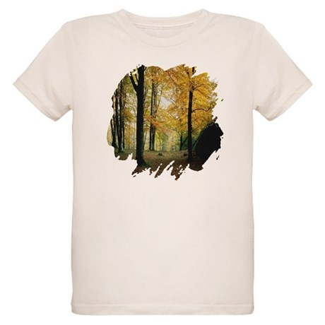Autumn Woods Organic Kids T-Shirt