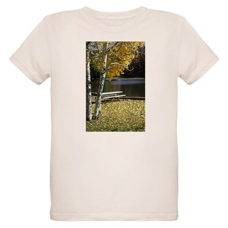 Picnic Table Organic Kids T-Shirt
