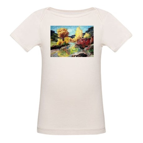 Autumn Canyon Organic Baby T-Shirt