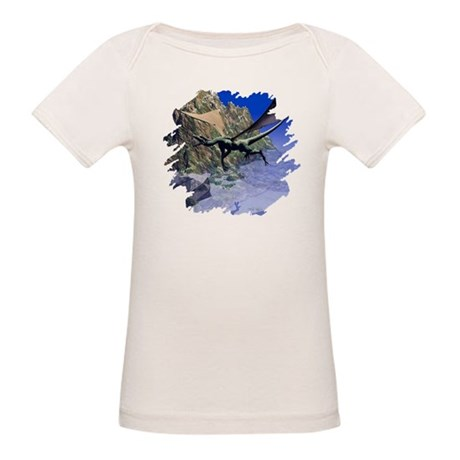 Flying Dragon Organic Baby T-Shirt