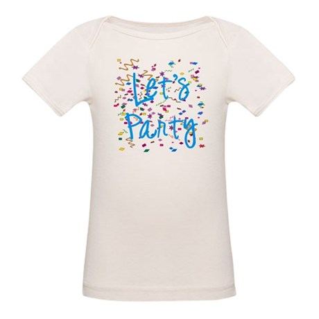 Let's Party Organic Baby T-Shirt