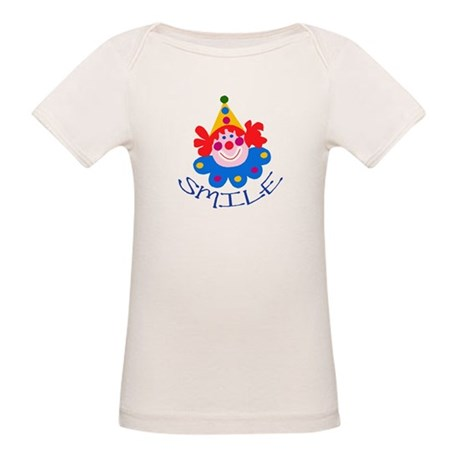 Clown Organic Baby T-Shirt