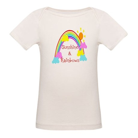 Sunshine Rainbows Organic Baby T-Shirt