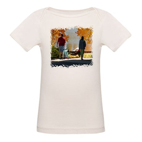 Early Autumn Stroll Organic Baby T-Shirt