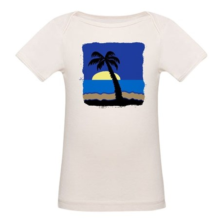 Palm Organic Baby T-Shirt
