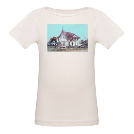 Old House on the Corner Organic Baby T-Shirt