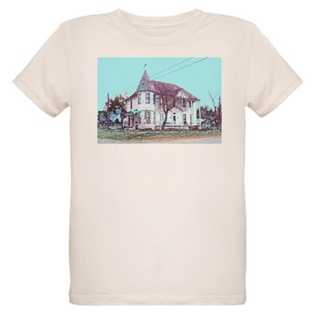 Old House on the Corner Organic Kids T-Shirt