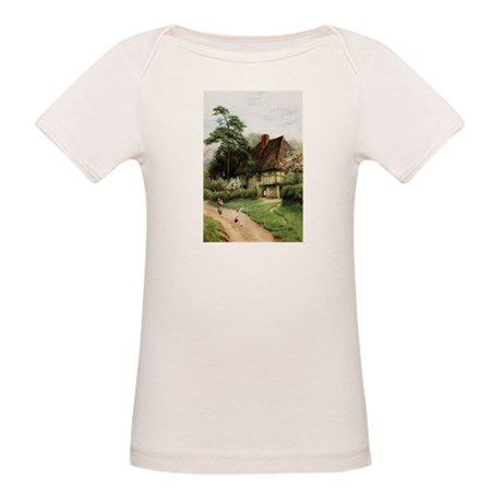 English Country Cottage Organic Baby T-Shirt