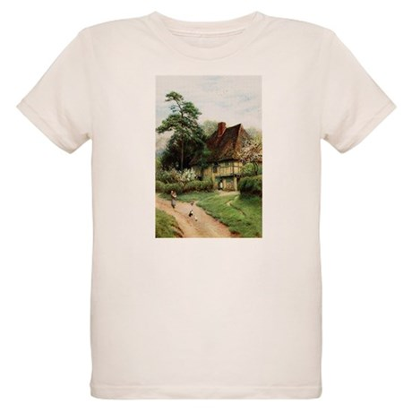 English Country Cottage Organic Kids T-Shirt
