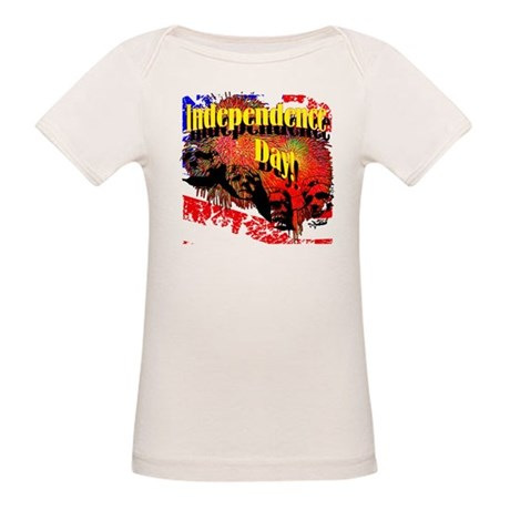 Independence Day Organic Baby T-Shirt