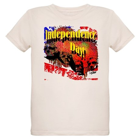 Independence Day Organic Kids T-Shirt