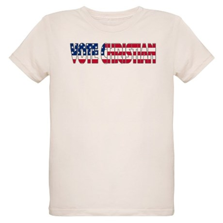 Vote Christian Organic Kids T-Shirt